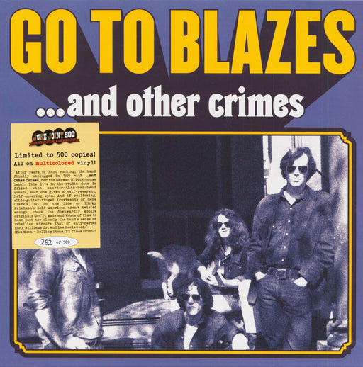 Go To Blazes And Other Crimes vinyl