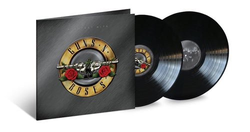 Guns n Roses Greatest Hits black vinyl