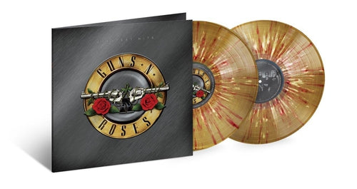 Guns n Roses Greatest Hits gold splatter vinyl