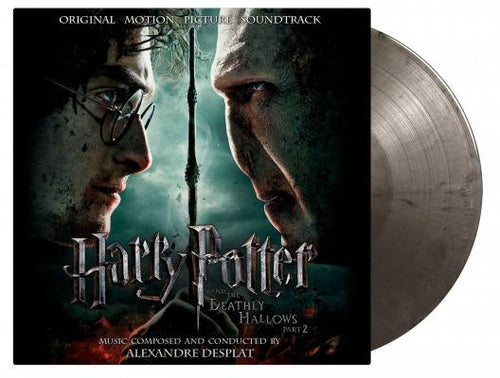 Harry Potter and the Deathly Hallows Part 2 soundtrack silver vinyl