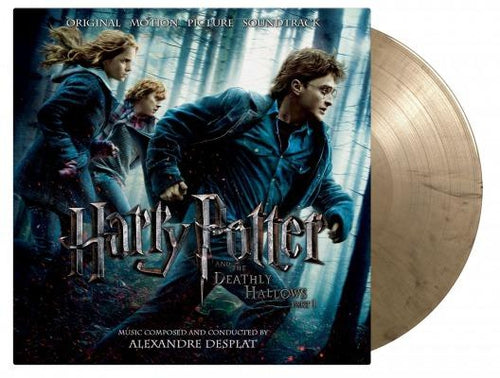 Harry Potter and the Deathly Hallows Part 1 soundtrack gold vinyl