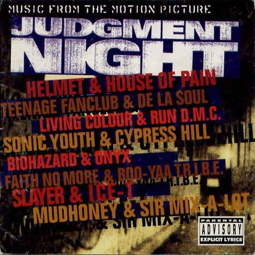 Judgment Night Soundtrack vinyl