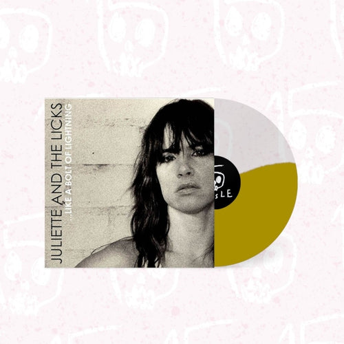Juliette Lewis and the Licks Like A Bolt Of Lightning clear and gold vinyl