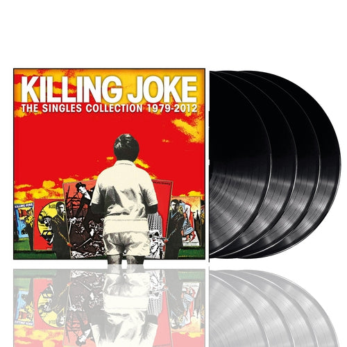 Killing Joke The Singles Collection vinyl