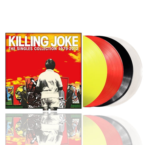 Killing Joke The Singles Collection coloured vinyl