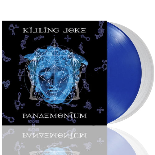 Killing Joke Pandemonium blue clear vinyl