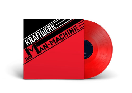 Kraftwerk The Man Machine red vinyl