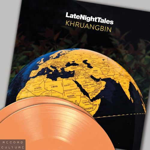Khruangbin Late Night Tales orange vinyl