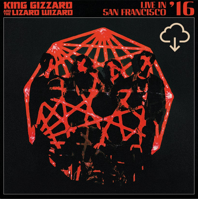 King Gizzard and The Lizard Wizard Live In San Francisco 16 vinyl