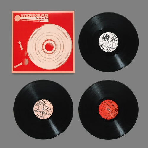 Stereolab Electrically Possessed Switched On Volume 4 vinyl