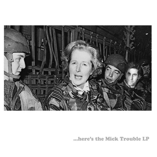 Mick Trouble Here's The Mick Trouble LP vinyl