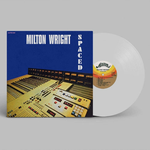 Milton Wright Spaced white vinyl