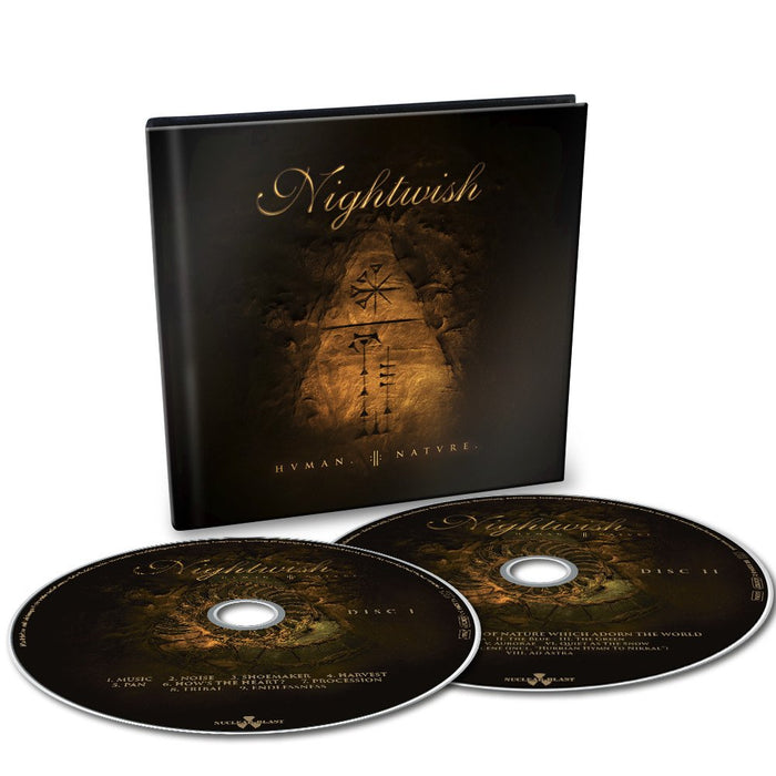 Nightwish Human Nature 2CD Digibook