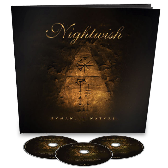 Nightwish Human Nature vinyl 3CD Earbook