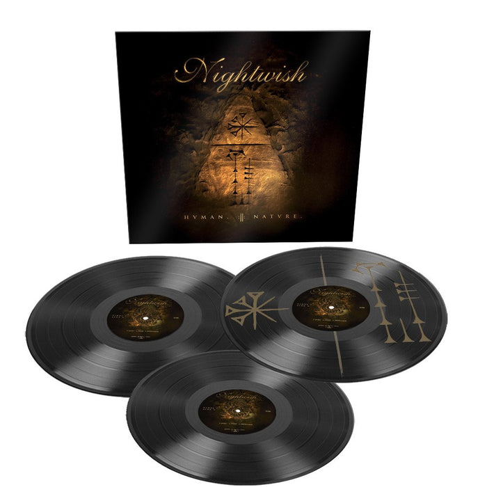 Nightwish Human Nature vinyl 3LP