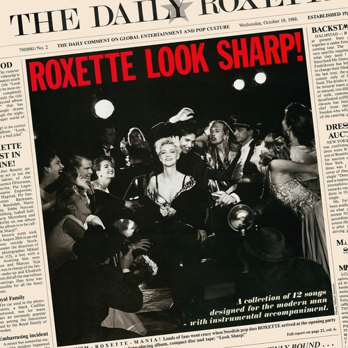 Roxette Look Sharp vinyl