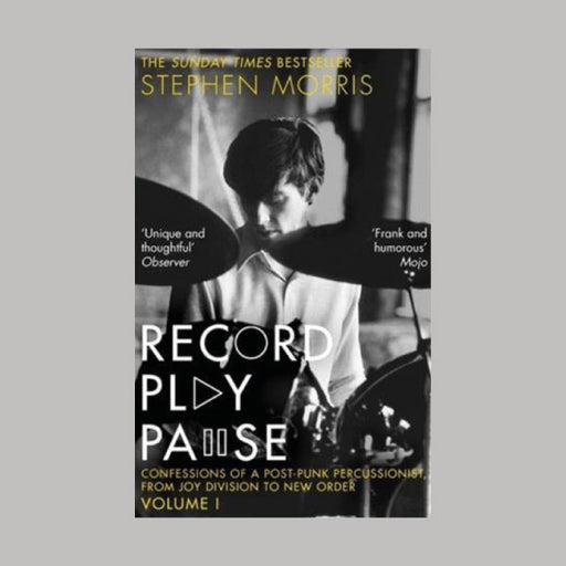 Stephen Morris Record Play Pause book
