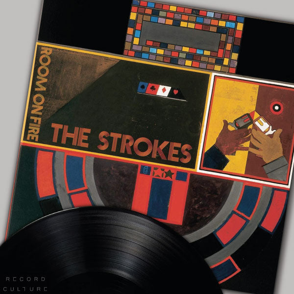 The Strokes Room On Fire vinyl