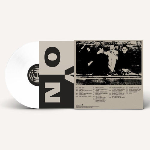 The 1975 Notes On A Conditional Form white vinyl