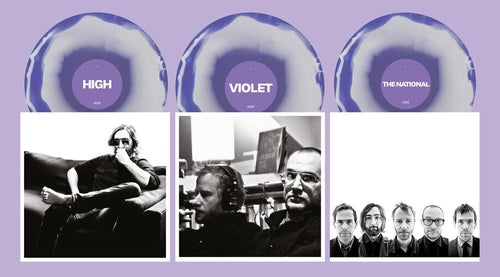 The National High Violet 2020 violet and white three LP vinyl