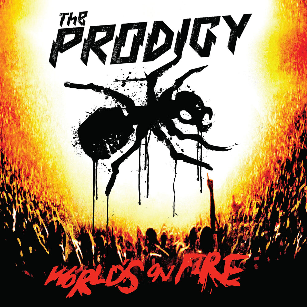 The Prodigy World's On Fire Live At Milkton Keynes Bowl vinyl