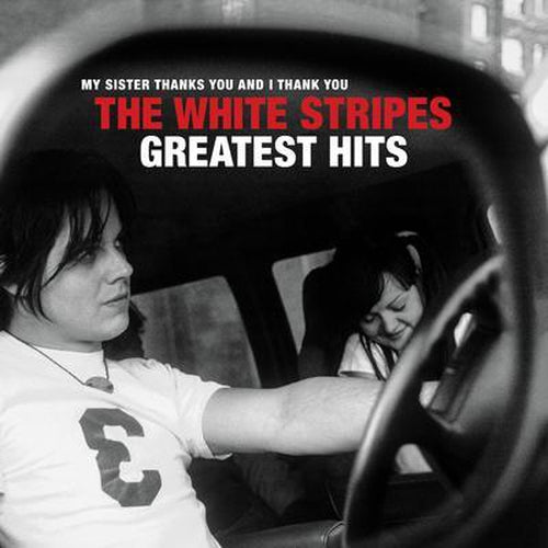 The White Stripes Greatest Hits vinyl