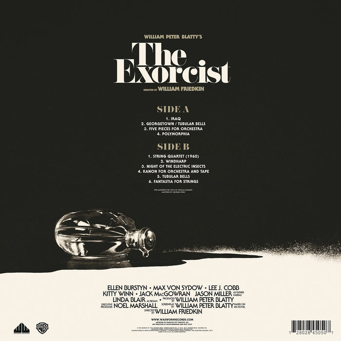 Various Artists - The Exorcist (Original Motion Picture Soundtrack) - Records - KIQ New Music Store
