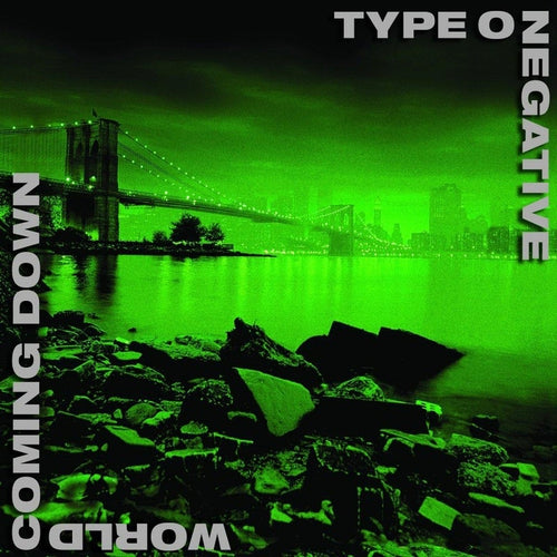 Type O Negative World Coming Down green and black vinyl