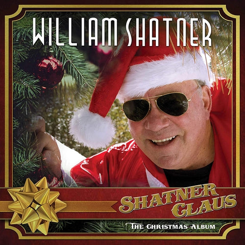 William Shatner Shatner Claus splatter vinyl