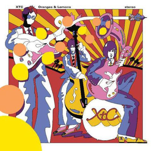 XTC Oranges And Lemons vinyl