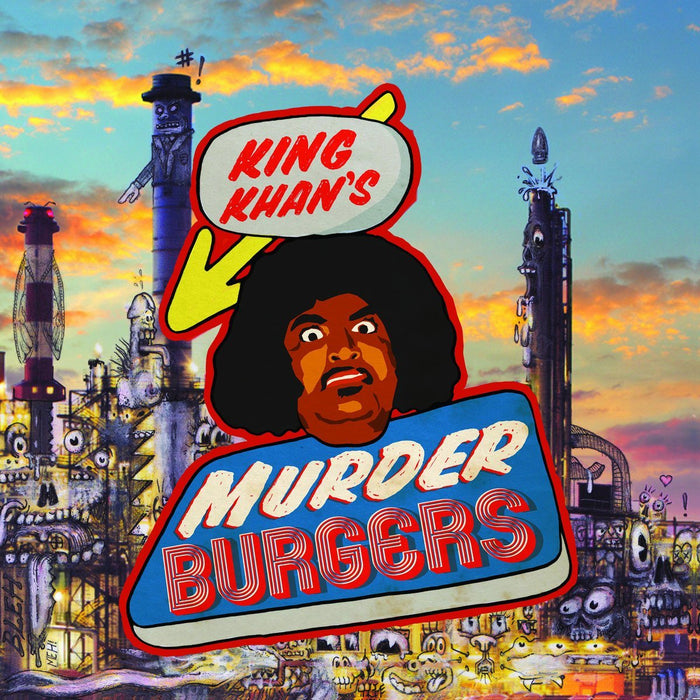 King Khan - Murderburgers - Records - Record Culture