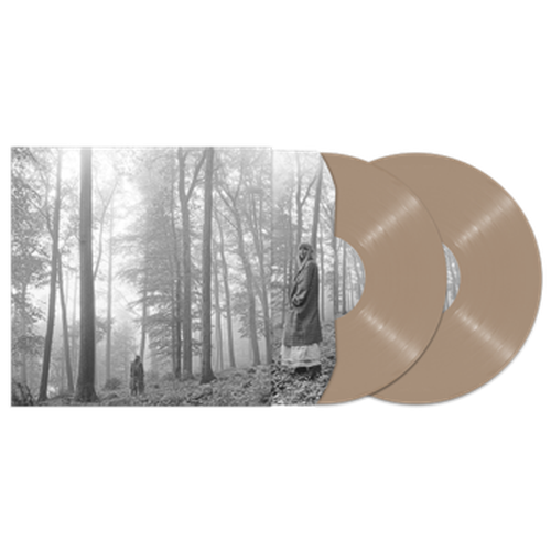 Taylor Swift Folklore beige vinyl