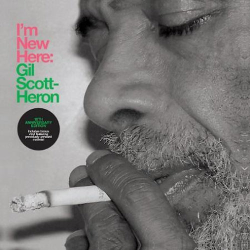 Gil Scott-Heron I'm New Here green and pink vinyl