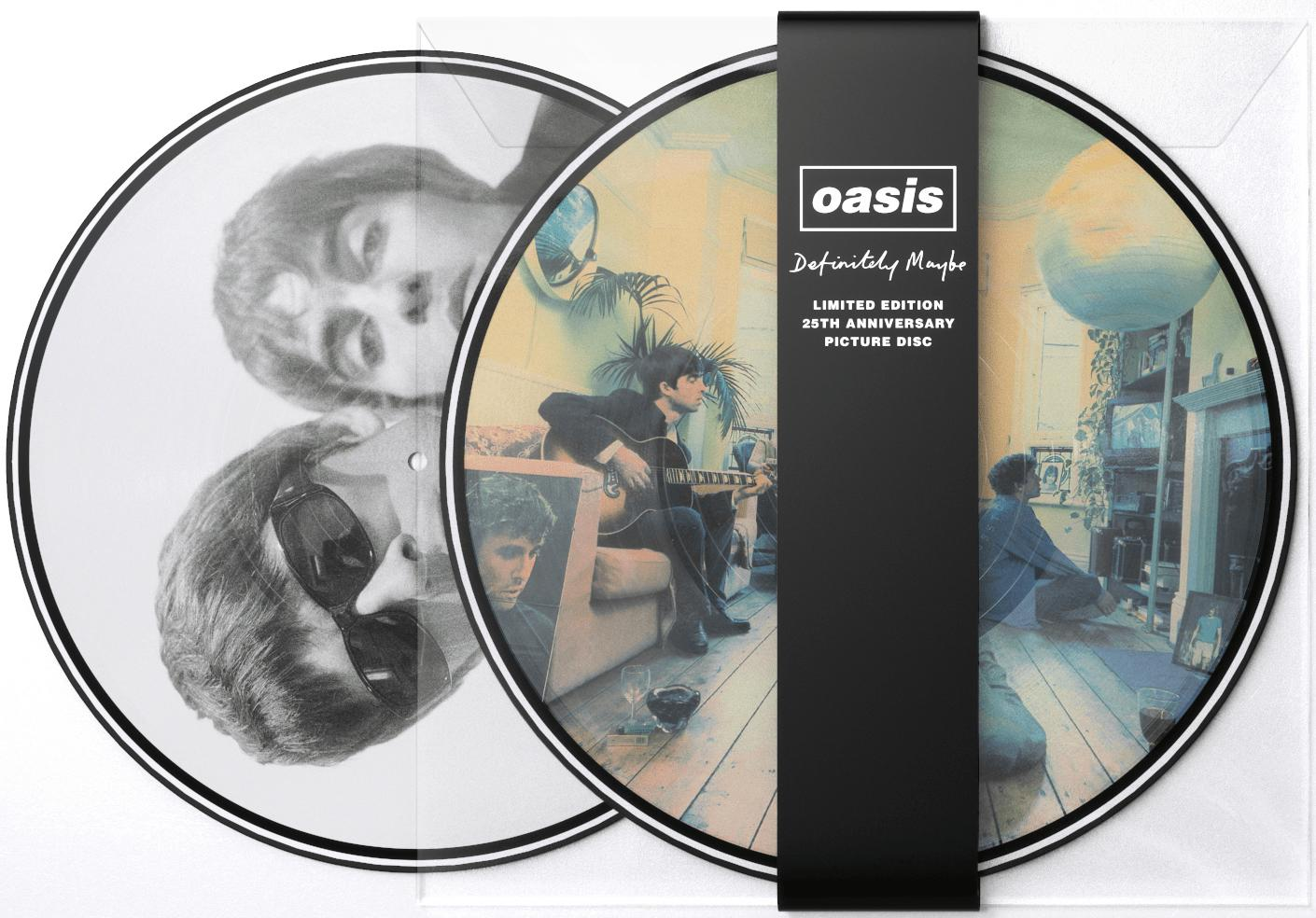 oasis definitely maybe picture disc