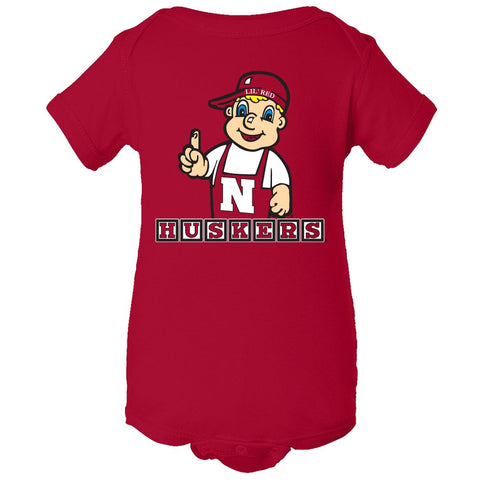 Infant Huskers Apparel Onesies