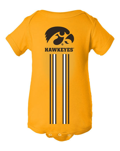 Infant Hawkeyes Apparel Onesies