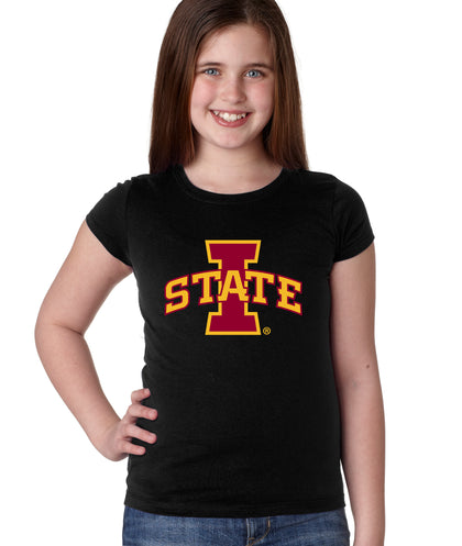 CornBorn Iowa State University Cyclones Girls Tee Shirt