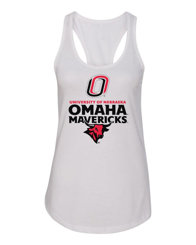Womens Mavericks Apparel Racerback Tank Tops
