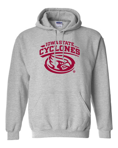CornBorn Iowa State Cyclones Hooded Sweatshirt - Gray