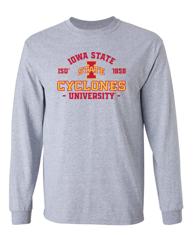 CornBorn Iowa State Cyclones Long Sleeve Tee Shirt