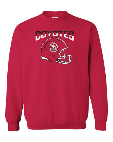 Mens Coyotes Apparel Crewneck Sweatshirts
