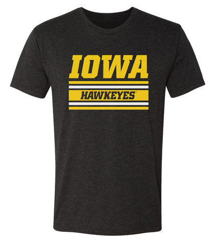 Mens Hawkeyes Apparel Premium Tri-Blend Ultra Soft Tee Shirts