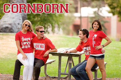 CornBorn Apparel friends in the park lifestyle