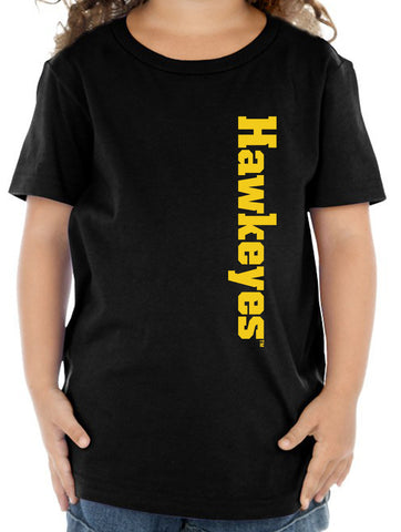 Iowa Hawkeyes Toddler Tee Shirt - Vertical Offset Hawkeyes