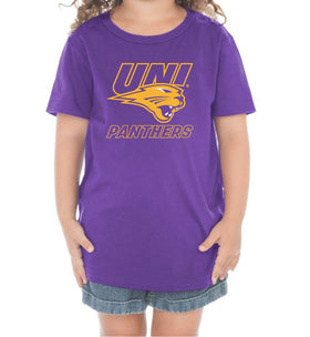 Northern Iowa Panthers Toddler Tee Shirt - UNI Power Logo