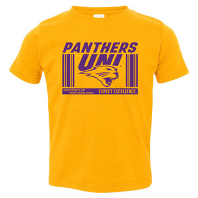 Northern Iowa Panthers Toddler Tee Shirt - UNI Expect Excellence