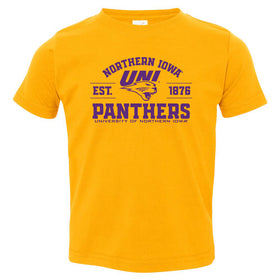 Northern Iowa Panthers Toddler Tee Shirt - UNI Established 1876