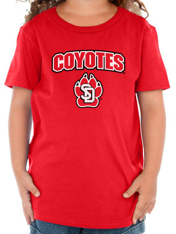 South Dakota Coyotes Toddler Tee Shirt - COYOTES with Primary USD Logo