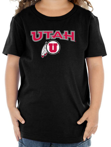 Utah Utes Toddler Tee Shirt - Circle & Feather Logo
