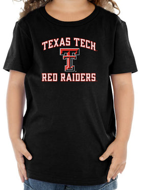 Texas Tech Red Raiders Toddler Tee Shirt - Arch Texas Tech with Double T Logo